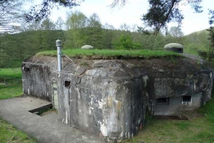 Randonnée à Dambach-Neunhoffen autour de la ligne Maginot, Alsace
