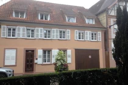 Meublé de Mme Eppinger, Niederbronn-les-Bains, Alsace, vue extérieure