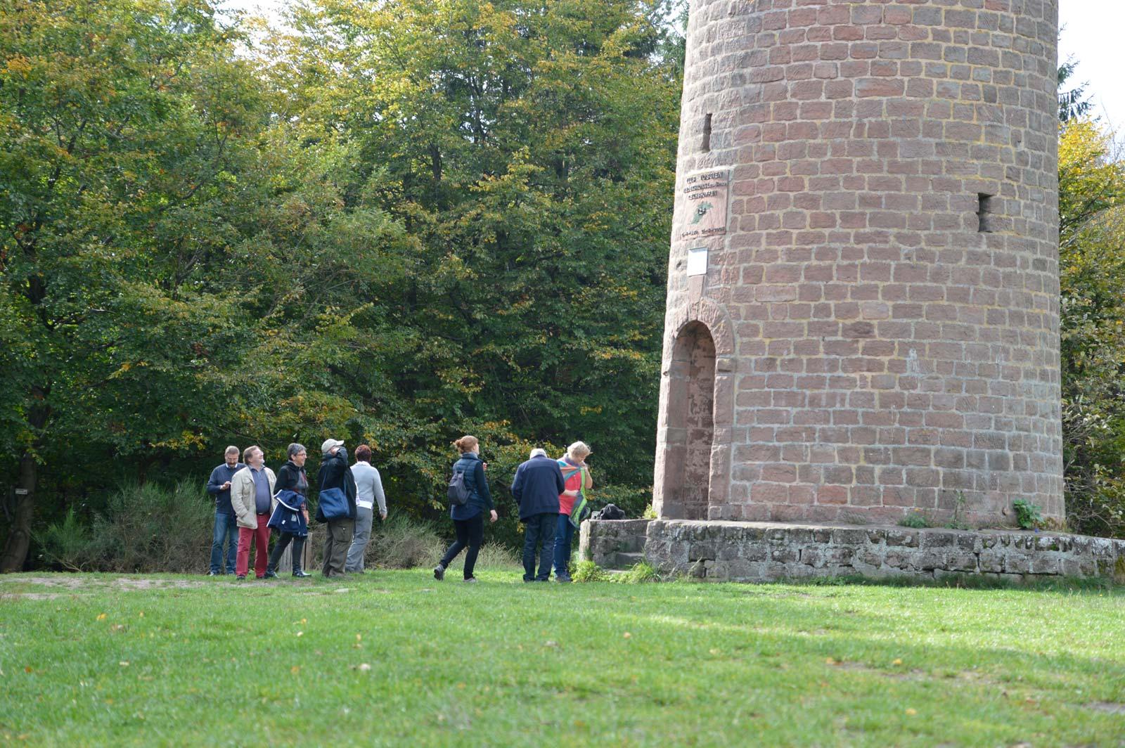 Promenade jusqu'à la tour du Grand Wintersberg, Niederbronn-les-Bains, Alsace