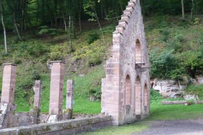 Randonnée des forges de Jaergerthal aux châteaux de Windstein, Alsace