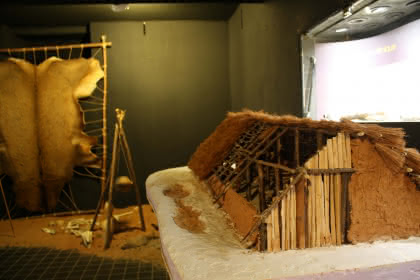 Visite du secteur 'Néolithique' du musée, Niederbronn-les-Bains