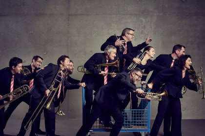Wonderbrass Band