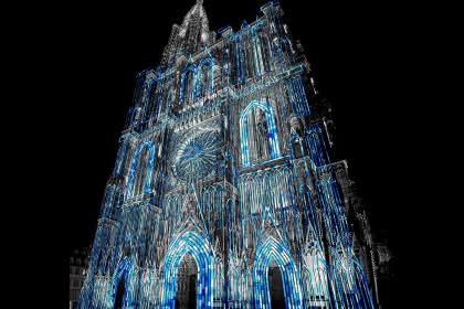 Lux, 2018, cathédrale - Philippe de Rexel