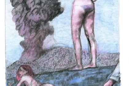 Blutch, sans titre, dessin extrait de La Beauté, Futuropolis, 2008. Collection de l'artiste © Blutch/ Futuropolis 2008. Photo : Dargaud