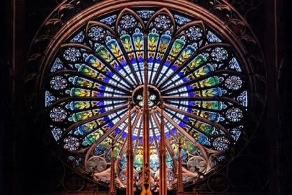 Rosace de la cathédrale - Christophe Urbain