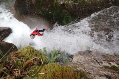 Vertic'eau canyon