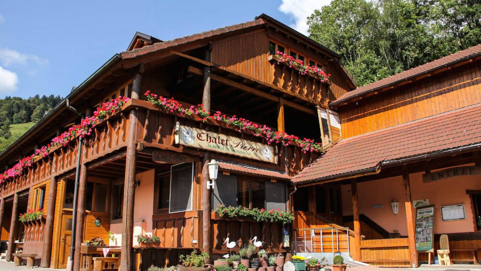 Chambres d 39 h tes chalet pierre visit alsace - Chambre d hote ribeauville ...