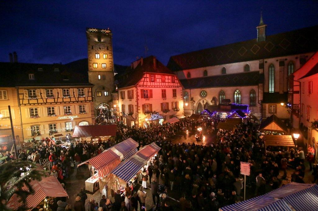 Weihnachtsmarkt Ribeauville
