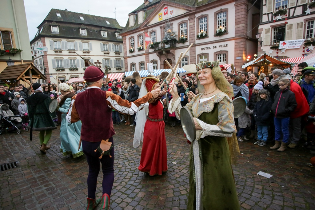 Ribeauville Weihnachtsmarkt