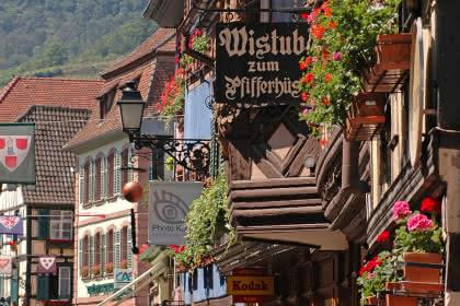 Ribeauvillé - Crédit photo : Christophe Dumoulin - Office de Tourisme du Pays de Ribeauvillé et Riquewihr