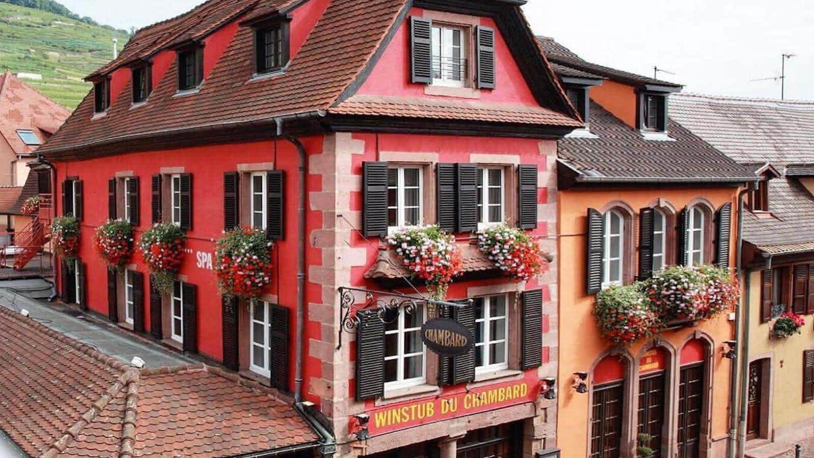 Hotel Restaurants Le Chambard Spa Kaysersberg Vignoble Visit