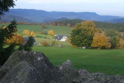 Entre le col du Wettstein et le lac des truites.