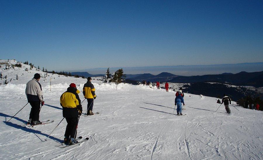 Piste de ski du Tanet - Vallée de Munster - Alsace