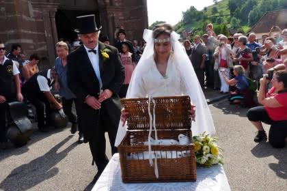 Les mariés du Frankental à Stosswihr - Vallée de Munster, Alsace