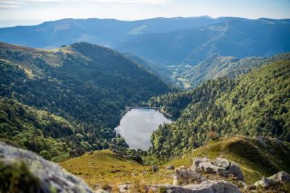 Le Lac du Schiessrothried - Vallée de Munster - Alsace