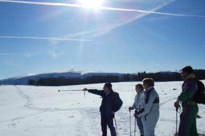 rando sous la neige - Avec Cimes et Sentiers