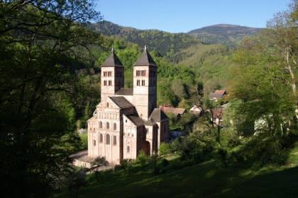 Abbaye de Murbach Crédit: Pays d'Art et d'Histoire
