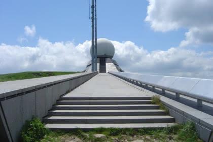Vue du radar du Grand Ballon - crédit: L. Gorkiewicz