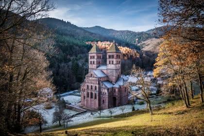 Abbaye de Murbach, Crédit: L. Gorkiewizc
