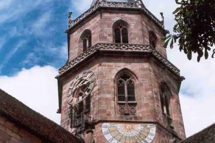 Clocher de l'église Saint Maurice de Soultz