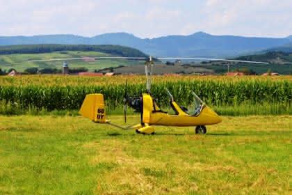 Ciel Destination Découvertes Vols en ULM et hélicoptère en Alsace Crédit: Vincent Schneider
