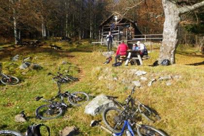 Vététistes au Judenhut © F.Kruch
