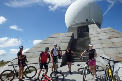 Mountainbiken am Grand Ballon