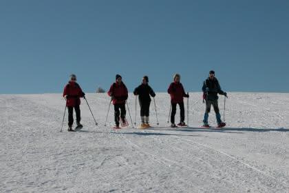 Découverte de la raquette à neige au Markstein Crédit : Marc Doppler