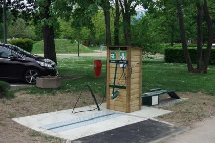 Station de lavage, réparation et gonflage de vélos à Guebwiller - Issenheim