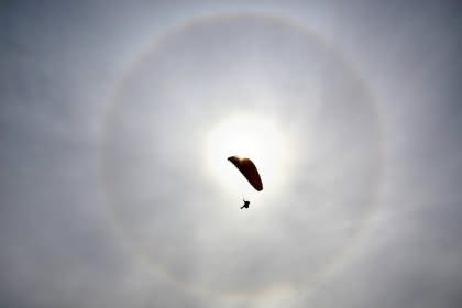 Vol en parapente © Brice Inhofer