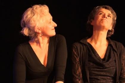 Fabienne Morel et Claire Garrigue