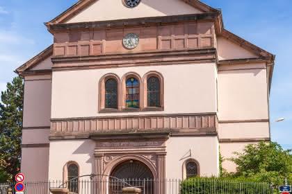 La synagogue de Colmar