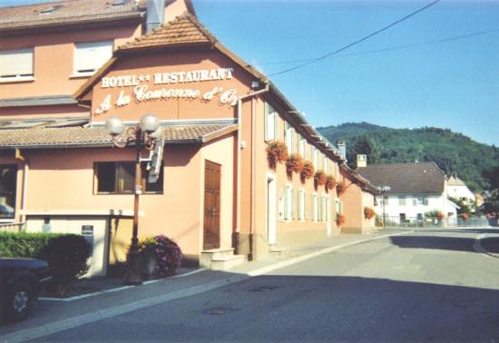 hôtel-restaurant la couronne d'or©ottc