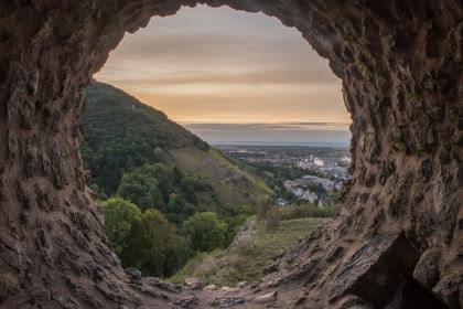 Vue sur les ruines ©Thierry Fimbel