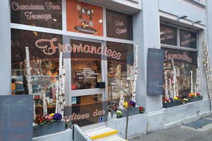 La devanture du magasin ©Fromandises