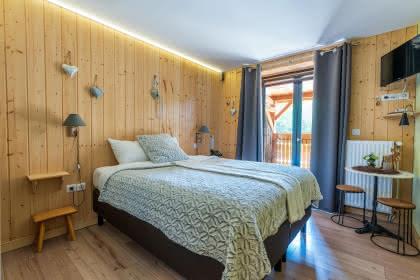 Chambre © Domaine du Hirtz