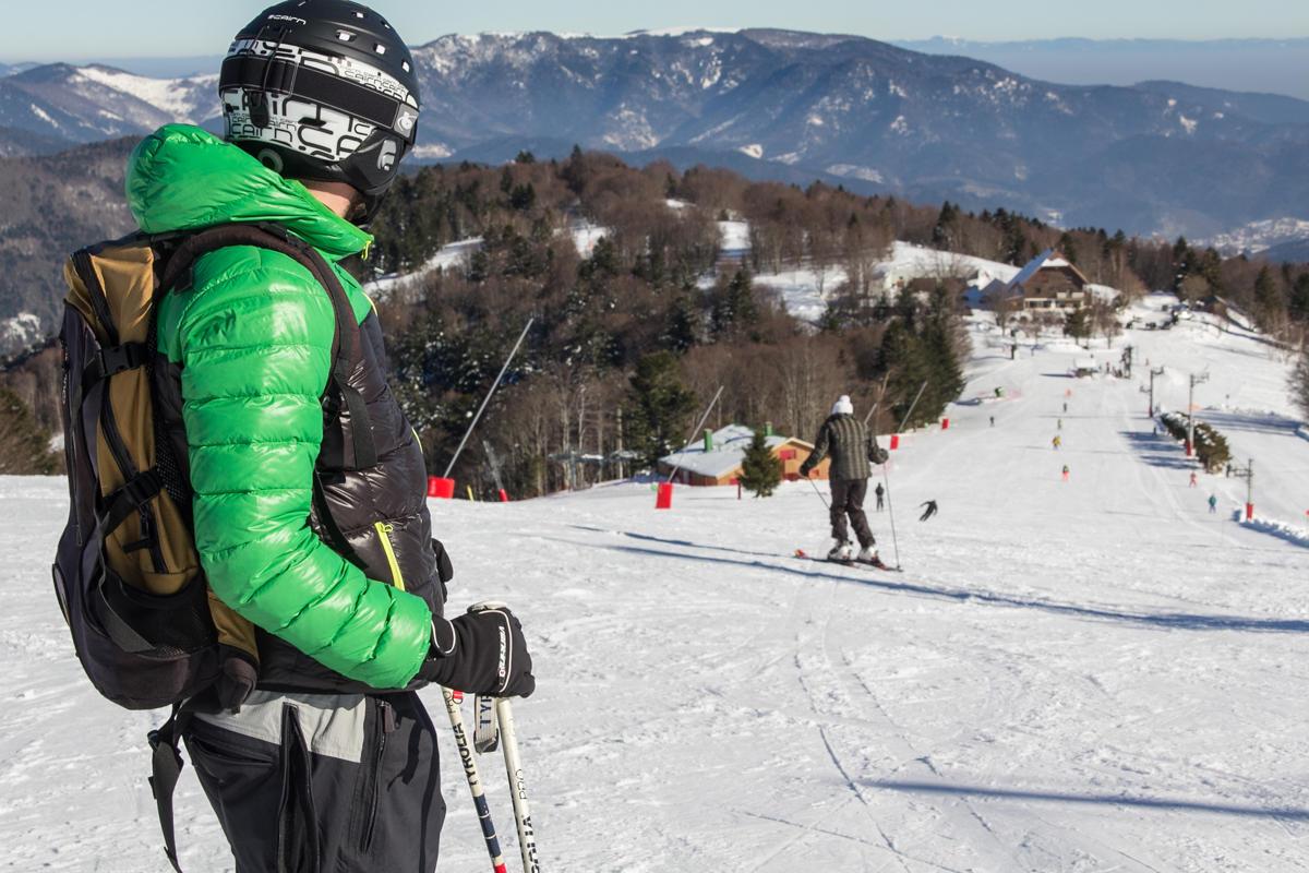 Piste de ski de piste © Destination Ballon d'Alsace