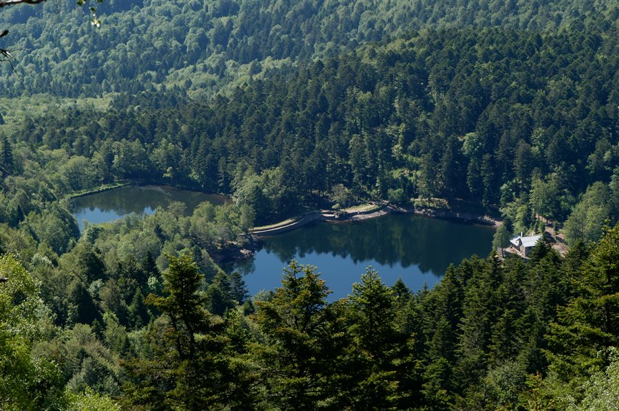 Refuge et lac du Neuweiher © Bertrand Reuschle