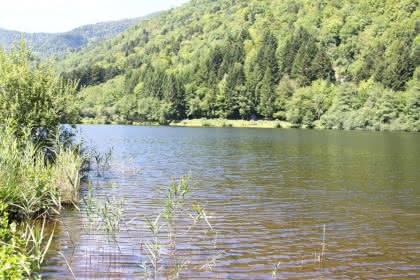Pêche au lac de Sewen