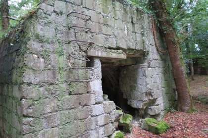 Bunkers sur le sentier