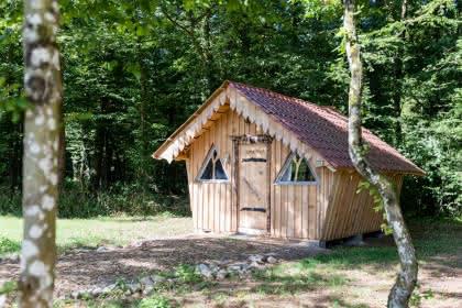 Cabane de Gretel © Camping les Castors