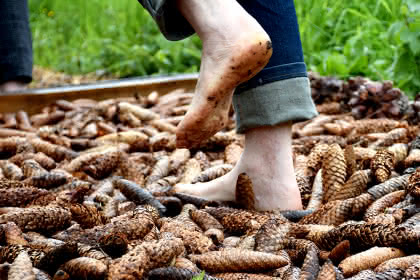Sentier pieds nus © OTMasevaux