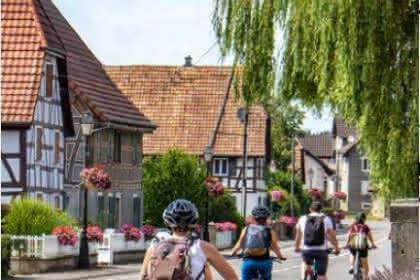 Carte Sundgau à vélo