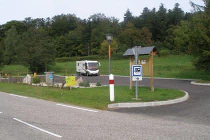 aire d'accueil de campings-cars  FERRETTE