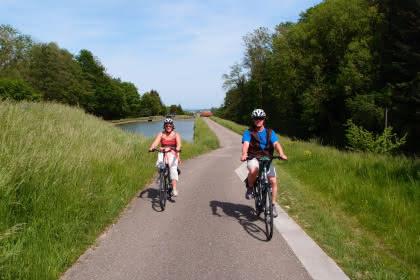 Vélo route ©ADT Alsace