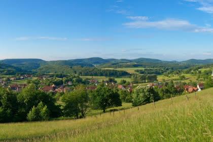 Village de Winkel, Jura alsacien