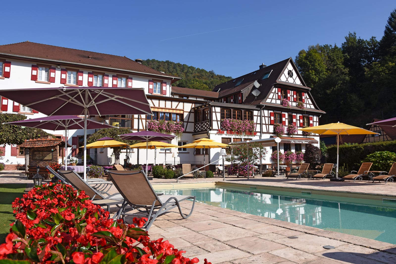 Restaurant Au Cheval Blanc, Niedersteinbach, Alsace