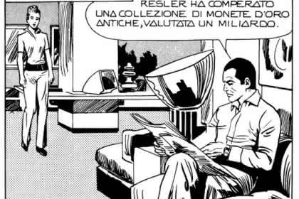 Diabolik-Comic, Scommessa fatale
