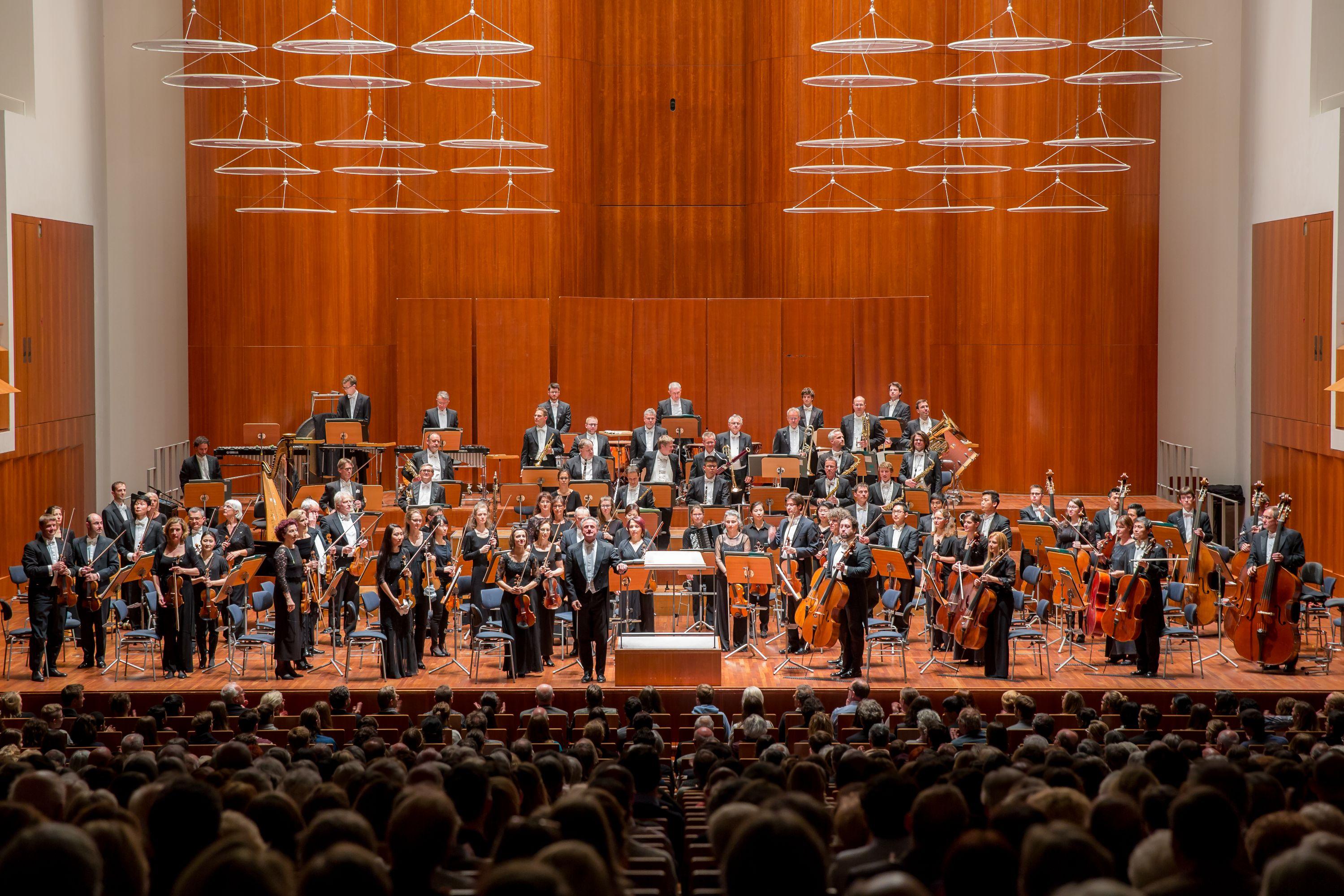 Photographie Orchestre Philharmonique de Freiburg © Britt Schilling