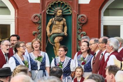 ©Peter  Wehrli Medienanlass Eidg. Jodlerfest Basel 2020